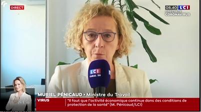 Le gouvernement français demande aux entreprises qui le peuvent de rester ouvertes