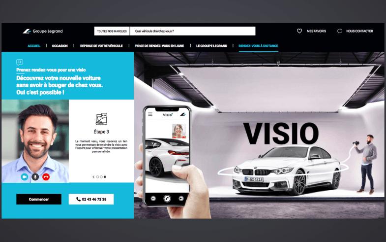 """Le groupe Legrand présente ses véhicules """"en visio"""" à ses clients"""