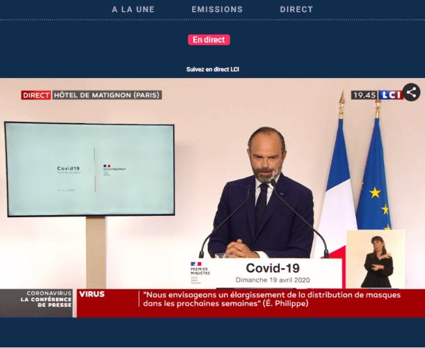 "'La crise économique sera brutale"", a prévenu Edouard Philippe"