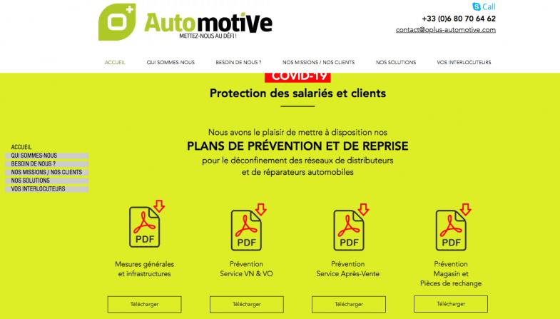 O+ Automotive publie une check-list à respecter avant le déconfinement