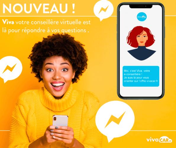 Vivacar.fr va s'équiper d'un chatbot