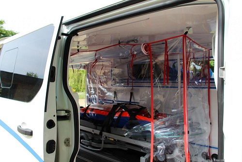 Protéger les personnels soignants et les patients dans les ambulances avec Protect Shell by Gruau