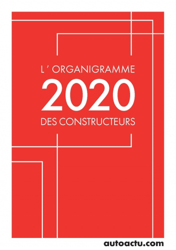 Nouvelle Édition 2020 de L'Organigramme des Constructeurs
