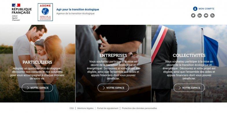 L'Ademe ouvre une plateforme numérique de conseils et de services