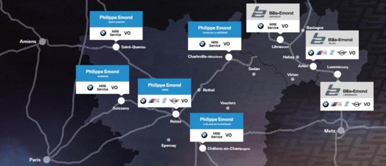 """Bientôt une """"vraie""""concession BMW-Mini à St-Quentin"""