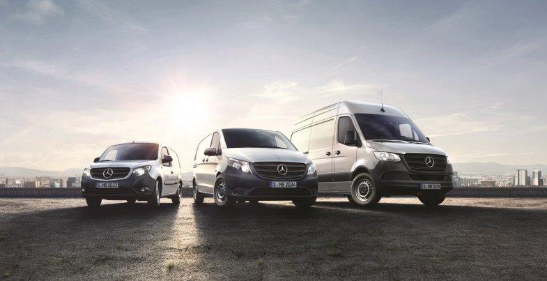Mercedes lance une nouvelle offre de LLD sur ses utilitaires légers