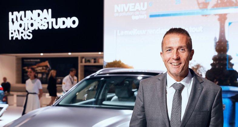 """Lionel French-Keogh: """"Le réseau Hyundai devrait rester rentable cette année"""""""