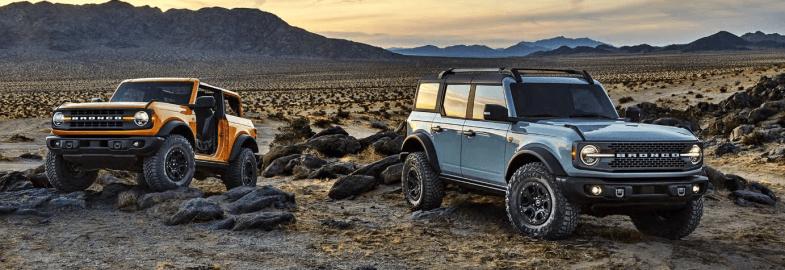 Ford dévoile de nouvelles versions du mythique 4X4 Bronco