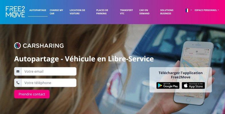 Free2Move devient une filiale à part entière de PSA