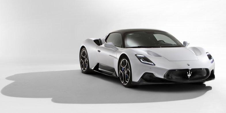 Maserati dévoile sa nouvelle supercar à 200.000 euros