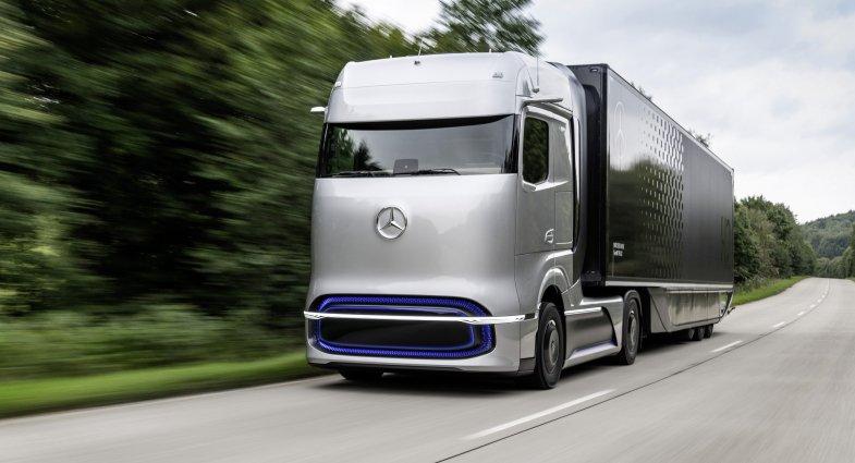 Mercedes : Un camion à batteries en 2021, un camion à pile à combustible pas avant 2025
