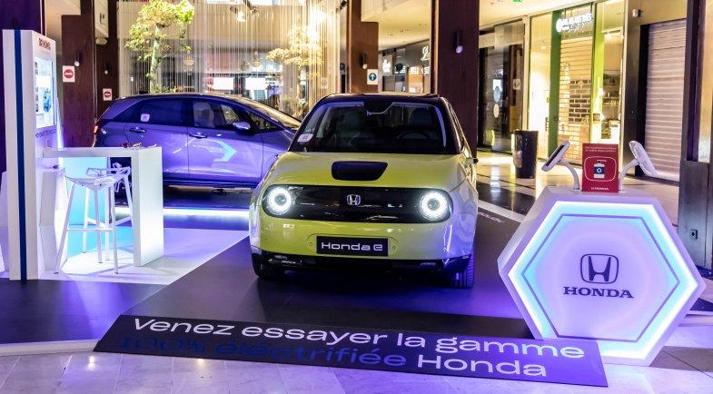 Honda s'installe aussi à Parly 2