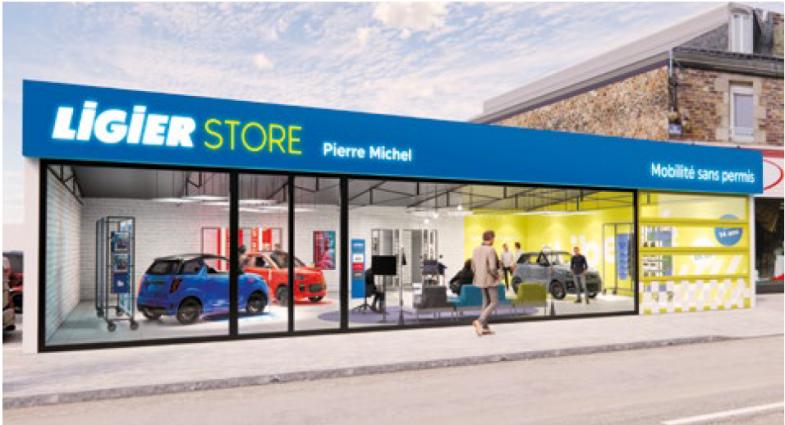 """Les """"Ligier Store"""", une nouvelle stratégie qui pourrait séduire les groupes de distribution"""