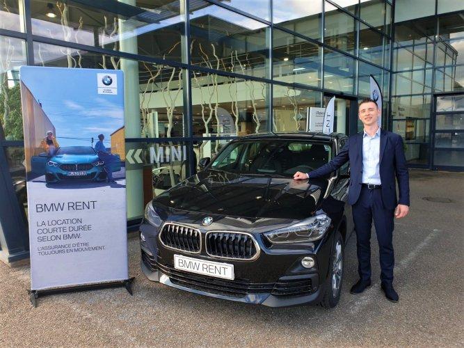 Le service de location BMW Rent se déploie en France