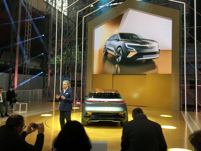 """""""Golden E"""": une nouvelle génération de Mégane 100% électrique"""