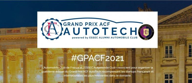 Grand Prix ACF AutoTech : les candidatures sont ouvertes