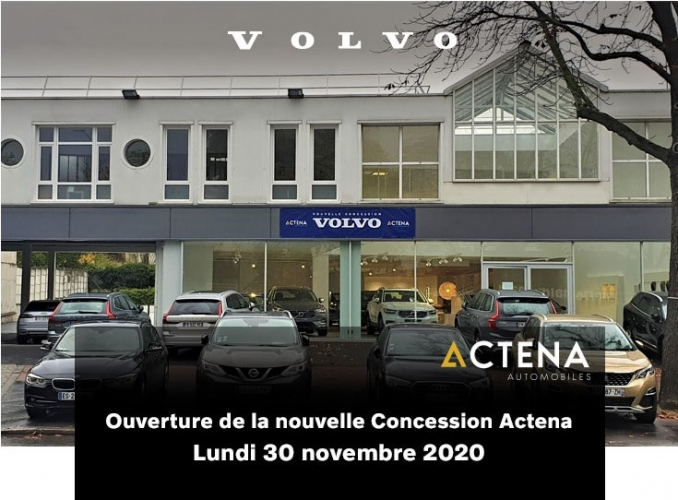 Le groupe Priod ouvre à Nanterre son huitième site Volvo en Ile-de-France