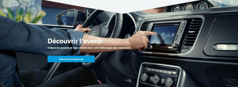 """Avec """"We upgrade"""", Volkswagen vend des fonctions après l'achat du véhicule"""