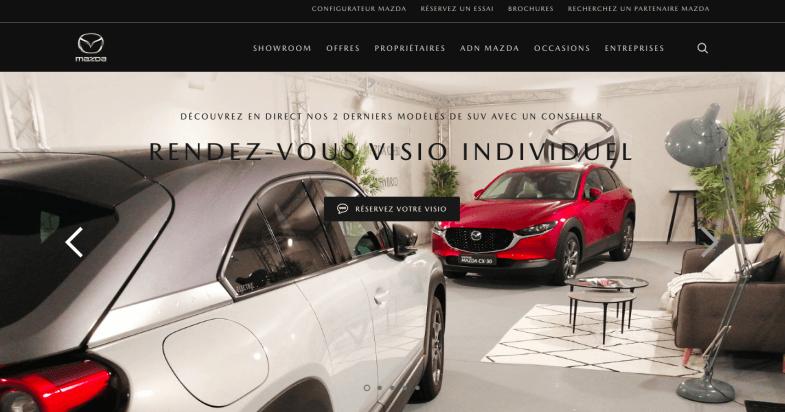 Mazda présente ses derniers SUV en visio privée