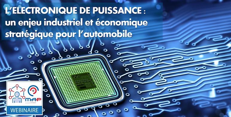 Electronique de puissance: une ambition française à 2,5 milliards d'euros en 2030