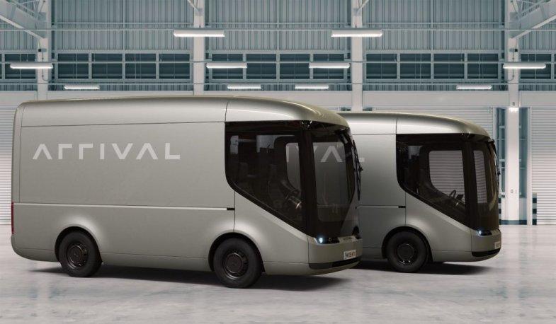 Les minibus électriques Arrival vont entrer à Wall Street