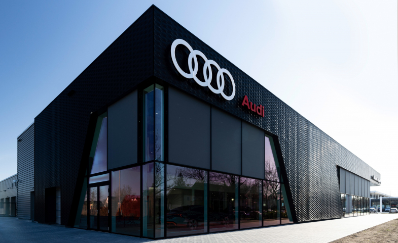 Audi inaugure de nouveaux standards dans une concession écologique à Munich