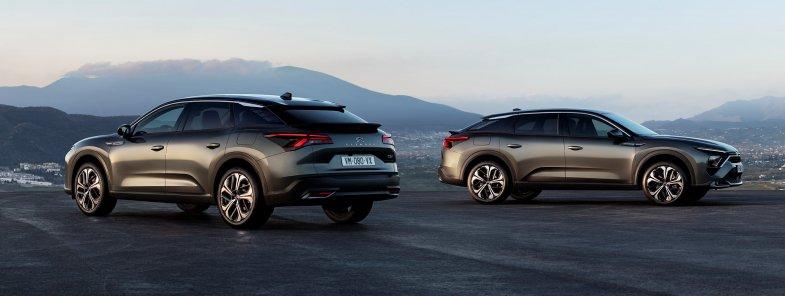 Avec C5 X, Citroën invente le break au look de SUV