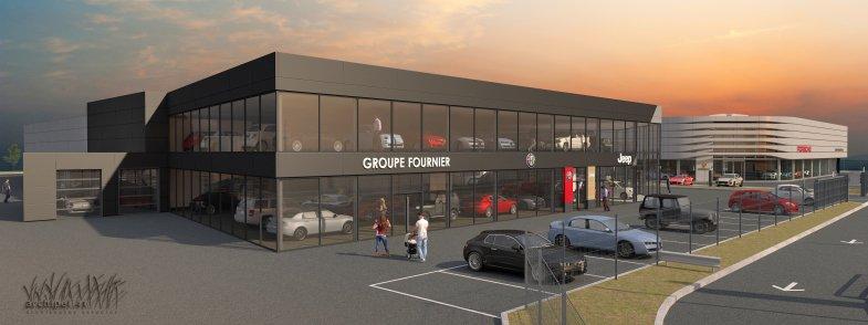 Le groupe Fournier va s'installer à Poissy, entre Porsche et le PSG