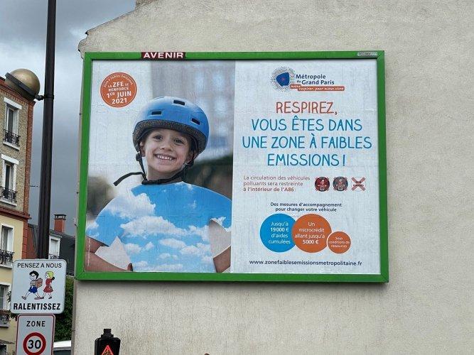 Les Français ignorent toujours ce qu'est une ZFE, selon un sondage Harris