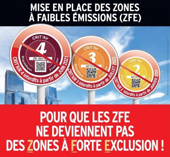 """La Feda fait campagne contre les """"Zones à Forte Exclusion"""""""