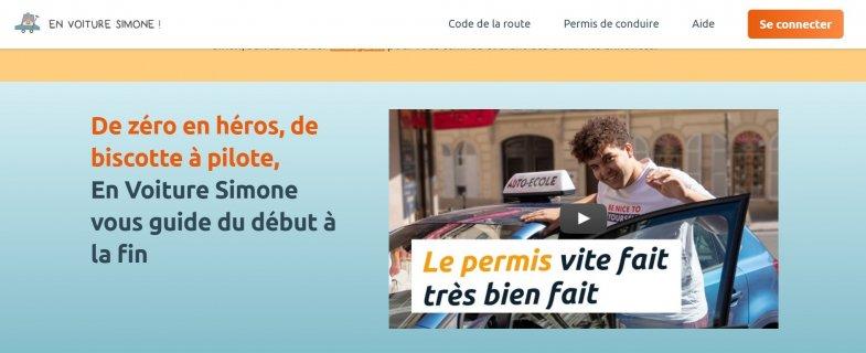 By My Car rachète l'auto-école en ligne En Voiture Simone