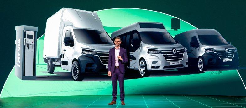 Hyvia révèle son offre de Renault Master à hydrogène