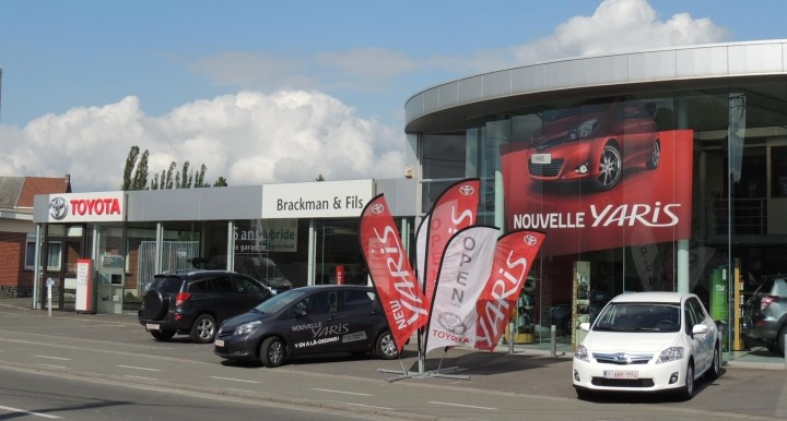 Le groupe GCA acquiert un quatrième site Toyota en Belgique