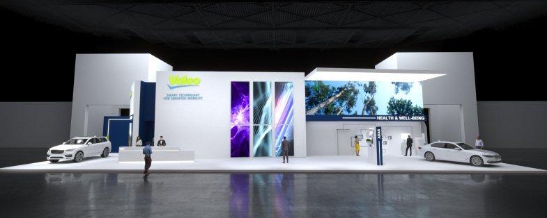 Autonomie de niveau 3 et électrification au menu du stand Valeo à Munich