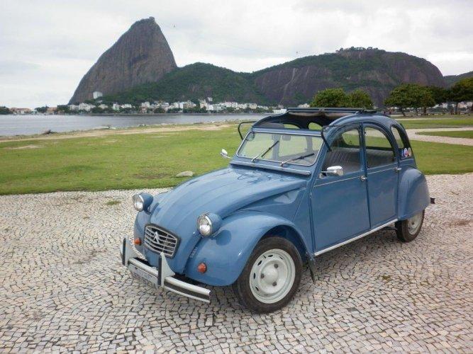 Aimer l'automobile à Rio