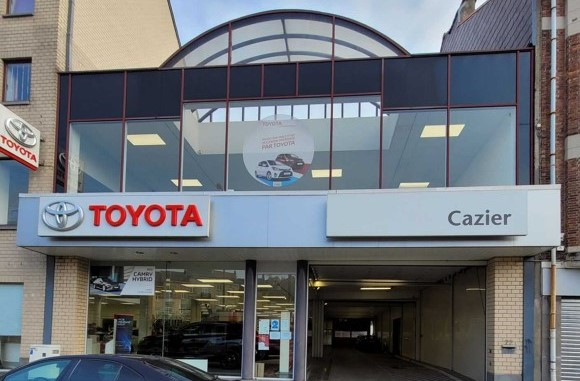 Le groupe GCA reprend une concession Toyota  à Bruxelles